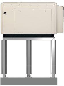 Cummins Generator Stand Side View
