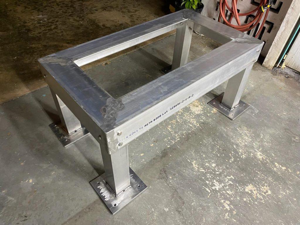 Aluminum Whole House Generator Stand